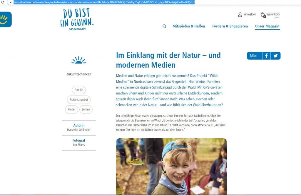 Adresse Deutsche Fernsehlotterie